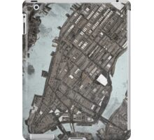 Abstract Map of Manhattan  iPad Case/Skin