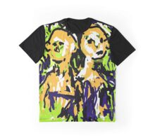 Two Heads Graphic T-Shirt