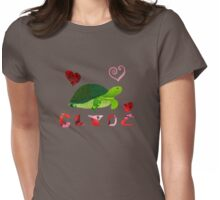 Clyde <3 Womens Fitted T-Shirt