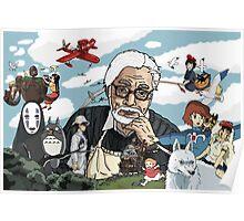 Hayao Miyazaki - Tribute Poster