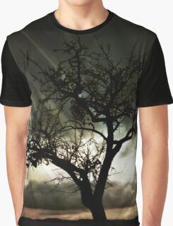 Sunset Storm Graphic T-Shirt