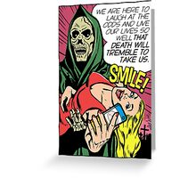 Death Will Tremble Greeting Card