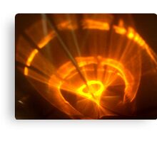 Fan The Red Hot Flame Canvas Print