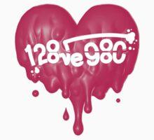 I Love you <3 Kids Tee