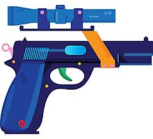 Fallout gun Photographic Print
