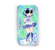 Sailor Mercury Colored Pencil Samsung Galaxy Case/Skin