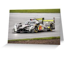 Bykolles Racing Team No 4 Greeting Card