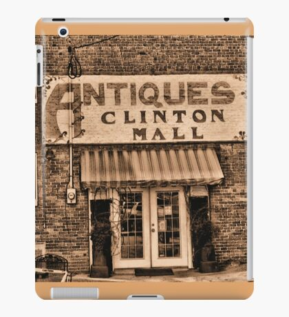 """""""Antiques, Clinton Mall,  #3""""... prints and products iPad Case/Skin"""