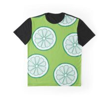 Pattern with limes Graphic T-Shirt