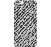 Modern White Black Popular Trendy Abstract Pattern iPhone Case/Skin