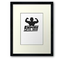 Star Wars - The Empire Lifts Back Framed Print