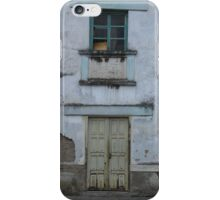 Broken Window and Yellow Door iPhone Case/Skin