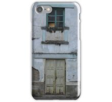 Broken Window and Yellow Door iPhone Case/Skin