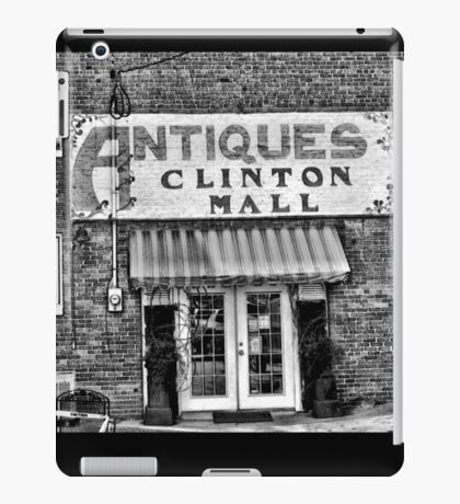 """""""Antiques, Clinton Mall, #2""""... prints and products iPad Case/Skin"""