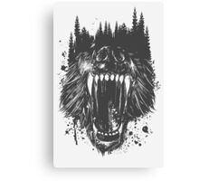 The North Never Forgets Canvas Print