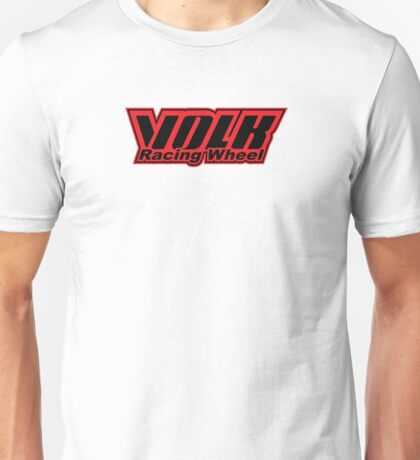 Volk Racing Wheel Unisex T-Shirt