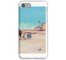 CHARLES-JAMES THERIAT  THE EL GOLÉA OASIS, ALGERIA iPhone Case/Skin