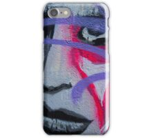 Graffiti woman iPhone Case/Skin
