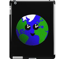 Cute earth iPad Case/Skin