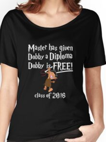 Dobby Graduation 2016 Women's Relaxed Fit T-Shirt