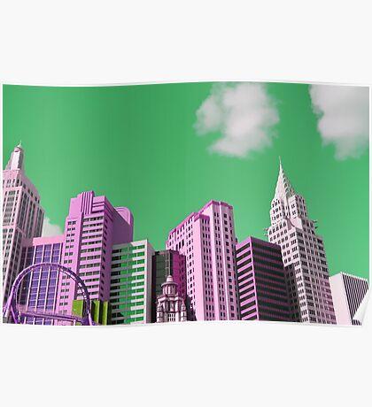 Vegas New York Poster