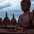 BOROBUDUR TEMPLE by Dioneyes