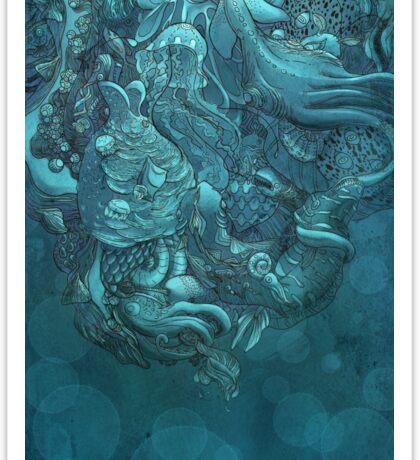 Aquatic Life 2 Sticker