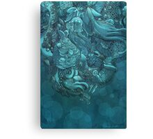Aquatic Life 2 Canvas Print
