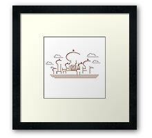 Sultan´s palace Framed Print