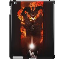 'You Shall Not Pass' iPad Case/Skin
