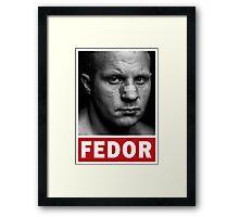Fedor Emelianenko Framed Print
