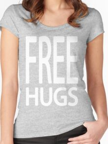 Free Hugs Women's Fitted Scoop T-Shirt