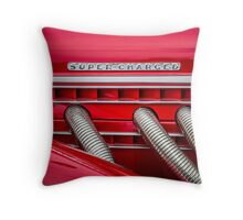 Super-Charged Throw Pillow