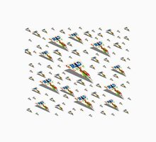 MAD Paper Airplane 188 Pattern Unisex T-Shirt