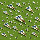 MAD Paper Airplane 188 Pattern by YoPedro