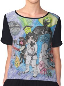 Steven Universe Episode IV: A New Hope POSTER Chiffon Top