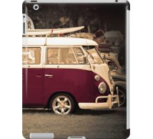 Camper van Surfs up iPad Case/Skin