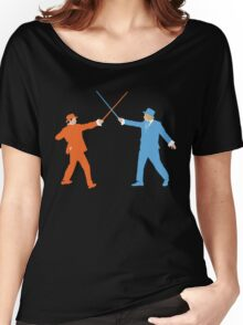 Dumb and Dumber On Guard!  Women's Relaxed Fit T-Shirt