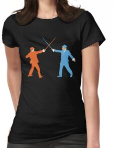 Dumb and Dumber On Guard!  Womens Fitted T-Shirt