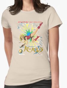 Barbarella Retro Movie Poster - Japanese Edition Womens Fitted T-Shirt