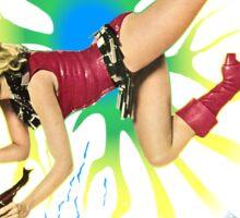 Barbarella Retro Movie Poster - Japanese Edition Sticker