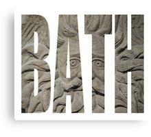 Bath Gorgon Canvas Print