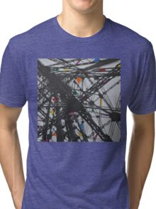 Rainbow pylon Tri-blend T-Shirt