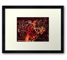 Apocalyptic Endings Framed Print