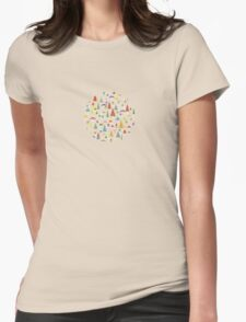 Paper Airplane 60 Womens Fitted T-Shirt