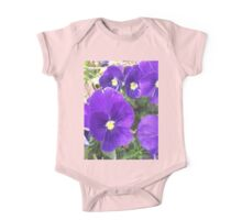Purple Spring - Flowers If you like, please purchase, try a cell phone cover thanks One Piece - Short Sleeve