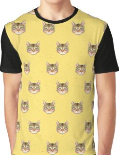 Cat Vector Graphic T-Shirt