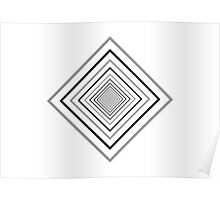 optics: diamond tunnel Poster