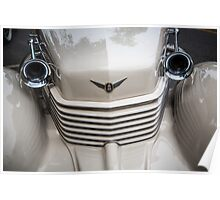 Cord Grill with Horns Poster