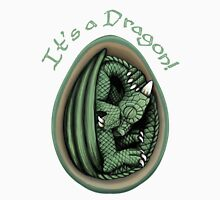 Dragon Egg - It's a Dragon Gender Reveal Joke Green Women's Relaxed Fit T-Shirt